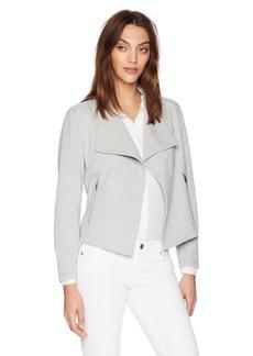 Calvin Klein Women's Textured Flyaway Jacket  S