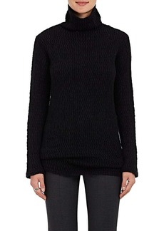Calvin Klein Women's Textured-Knit Cashmere-Silk Tunic