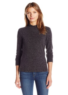Calvin Klein Women's Textured Mock Neck Top  L