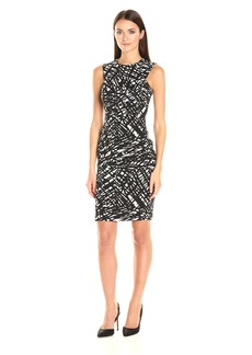 Calvin Klein Women's Textured Sheath Dress