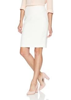 Calvin Klein Women's Textured Straight Skirt