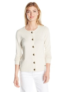 Calvin Klein Women's Toggle Cardigan  XL