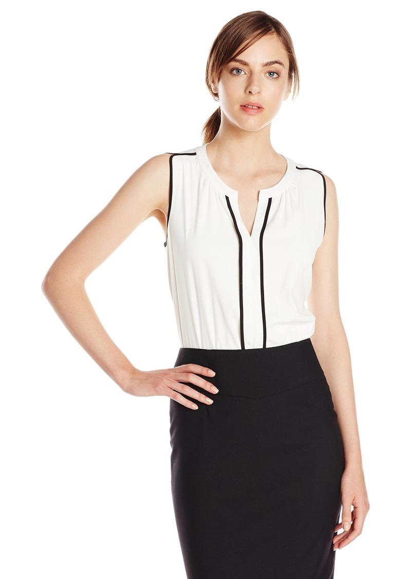 Calvin Klein Women's Top Blouse  S