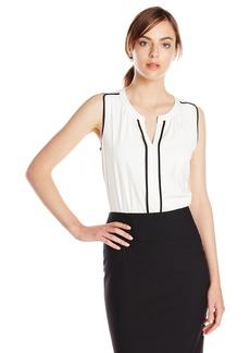 Calvin Klein Women's Top Blouse  XL