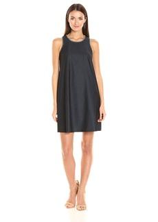 Calvin Klein Women's Trapeze Denim Dress