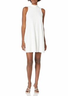 Calvin Klein Women's Trapeze Dress with Back Neck Bow