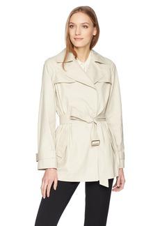 Calvin Klein Women's Trench Jacket with Belt  S