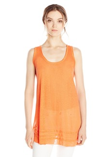 Calvin Klein Women's Tunic with Raw Edge