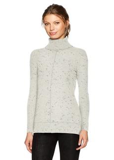 Calvin Klein Women's Turtleneck Sweater With Fleck Detal  L