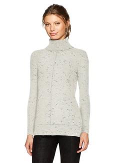 Calvin Klein Women's Turtleneck Sweater with Fleck Detal  M