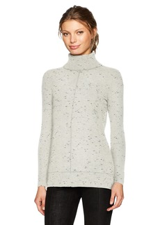 Calvin Klein Women's Turtleneck Sweater with Fleck Detal  XL