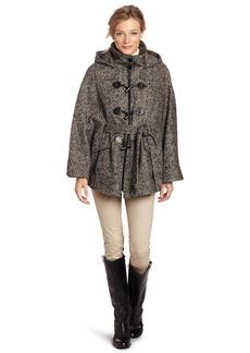 Calvin Klein Women's Tweed Cape  /Medium