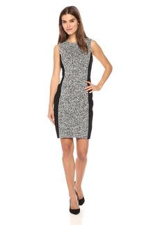 Calvin Klein Women's Tweed Sheath Dress