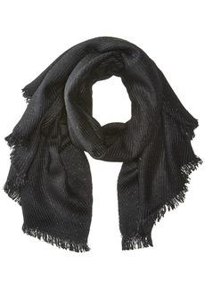 Calvin Klein Women's Twill Weave Lurex Scarf