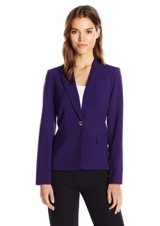 Calvin Klein Women's Two Button Jacket