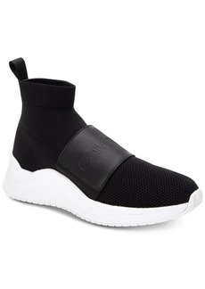 Calvin Klein Women's Uni Stretch Knit Sneakers Women's Shoes