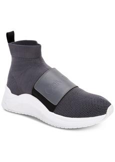 Calvin Klein Women's Uni Stretch Knit Sneakers Women's Shoes