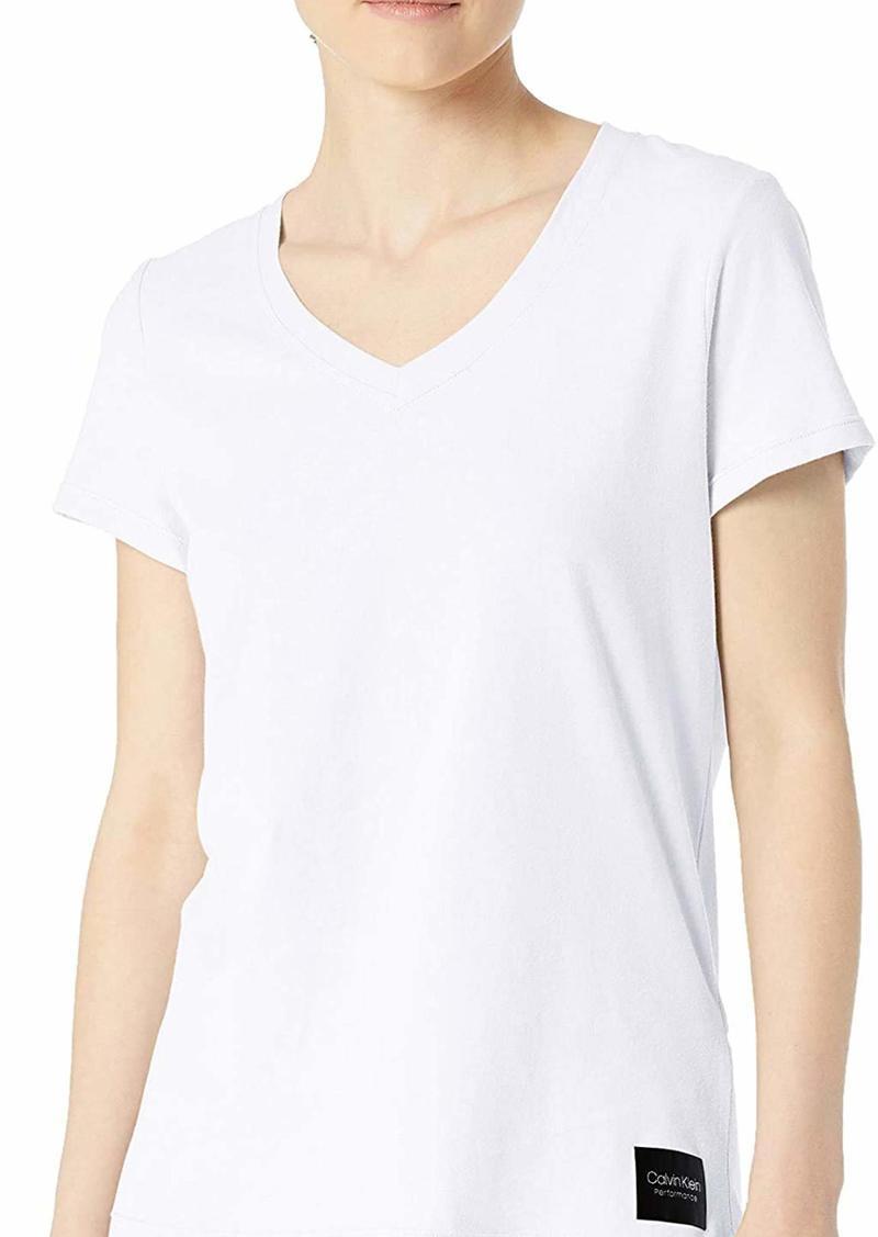 Calvin Klein Women's V-Neck T-Shirt