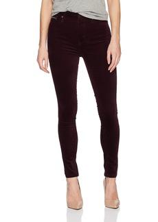 Calvin Klein Women's Velvet High Rise Ankle Skinny Pant