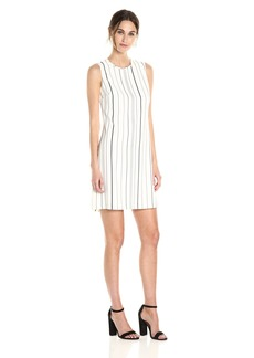 Calvin Klein Women's Vertical Stripe Sheath Dress