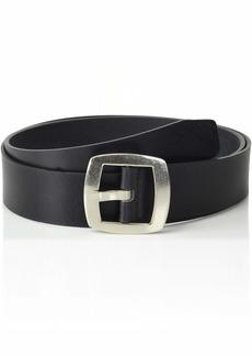 Calvin Klein Women's Vintage Leather Belt black XXL