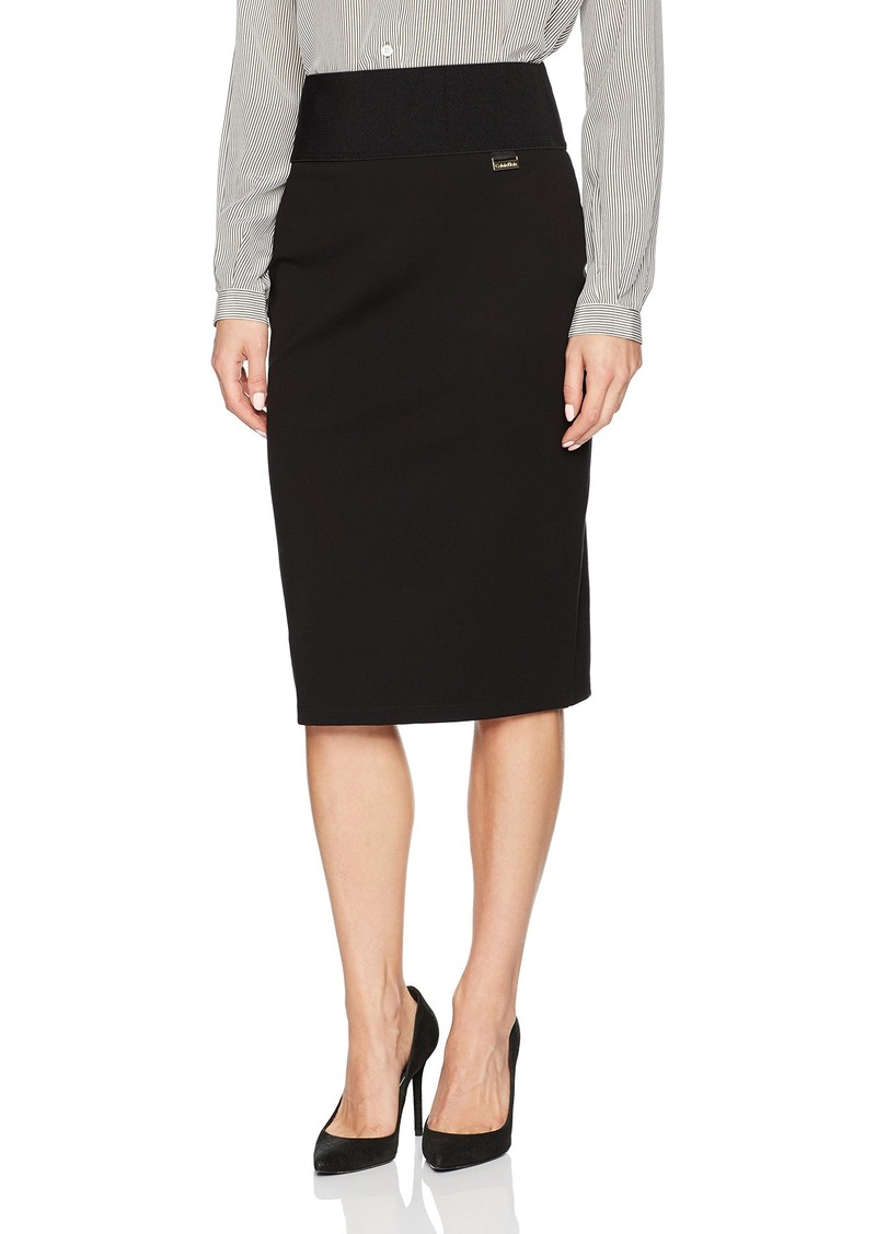 Calvin Klein Women's Wide Waist Skirt
