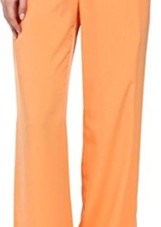 Calvin Klein Women's Woven Pant with Pockets  X-Large