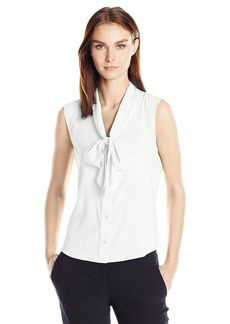 Calvin Klein Women's Woven Top