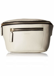 Calvin Klein Women's Zipper Belt Bag bone