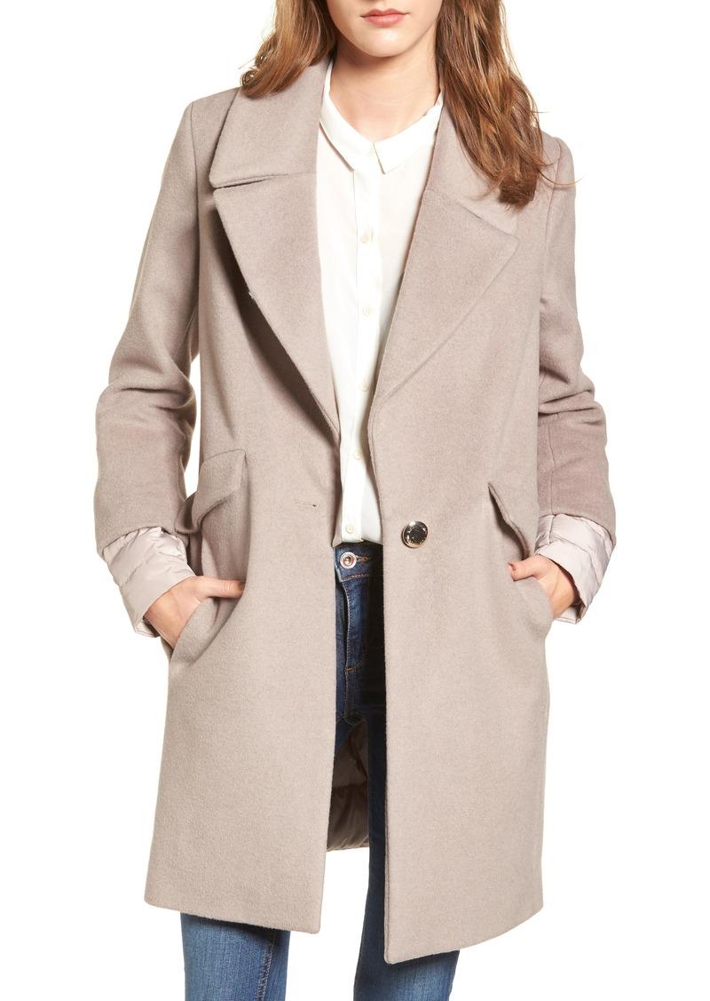 82e8f5a69a1 SALE! Calvin Klein Calvin Klein Wool & Down Reefer Coat