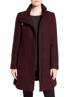 Calvin Klein Wool Blend Bouclé Walking Jacket (Regular & Petite)