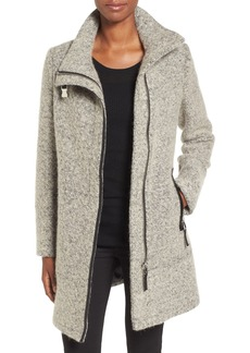 Calvin Klein Wool Blend Bouclé Walking Jacket (Regular & Petite)