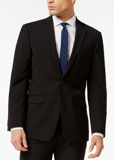 Calvin Klein X-Fit Black Solid Slim Fit Jacket