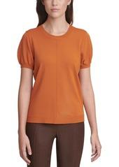 Calvin Klein X-Fit Short-Sleeve Sweater
