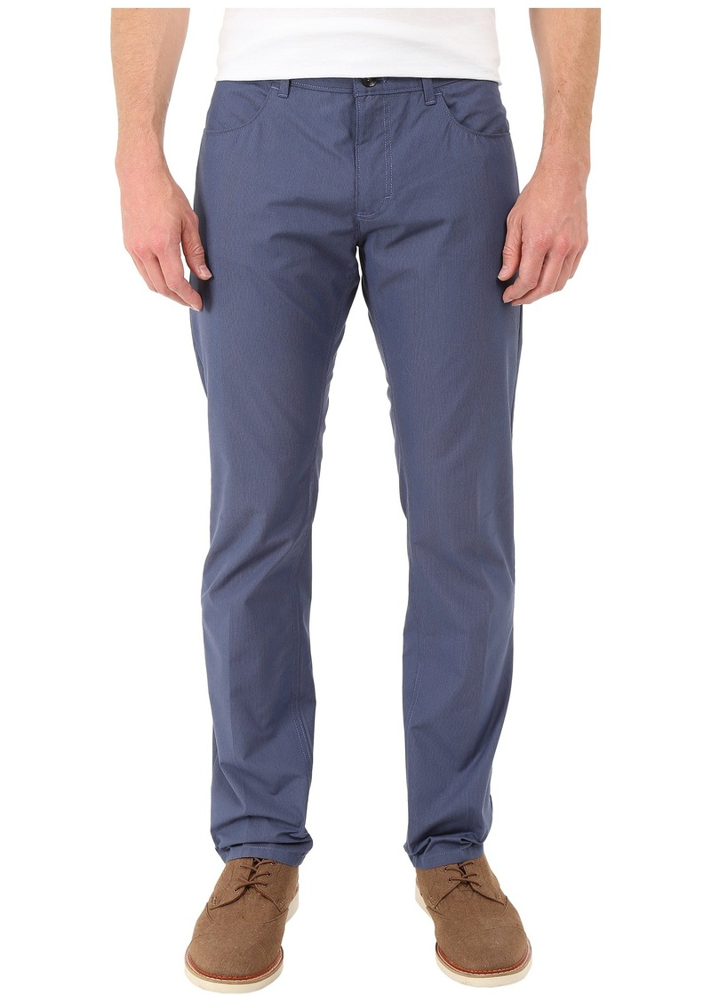 Calvin Klein Yarn-Dyed Check Four-Pocket Pant