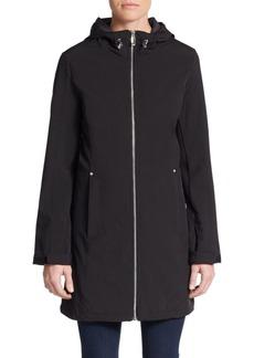 Calvin Klein Zip Front Hooded Jacket