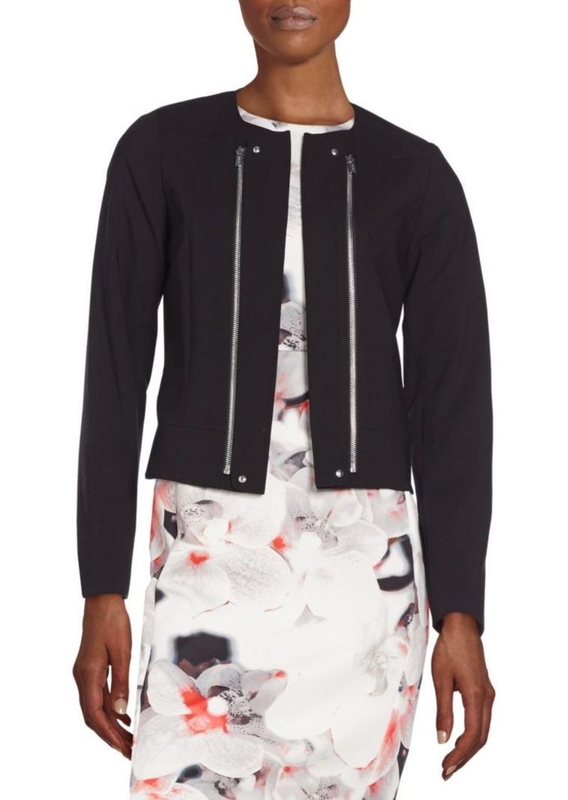 Calvin Klein Zip Front Moto Jacket
