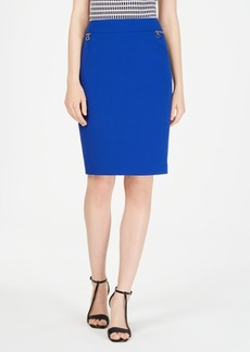 Calvin Klein Zip-Pocket Skirt