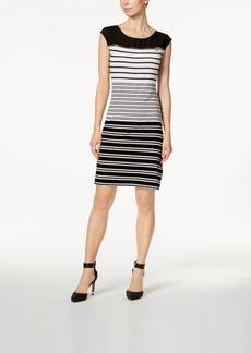 Calvin Klein Zipper-Trim T-Shirt Dress