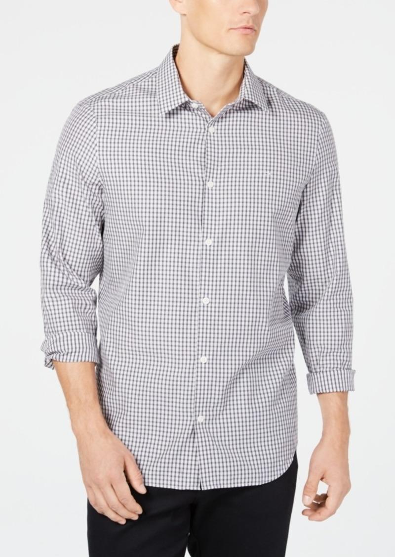 Calvin Klein's Men's Cotton Cashmere Blend Shirt