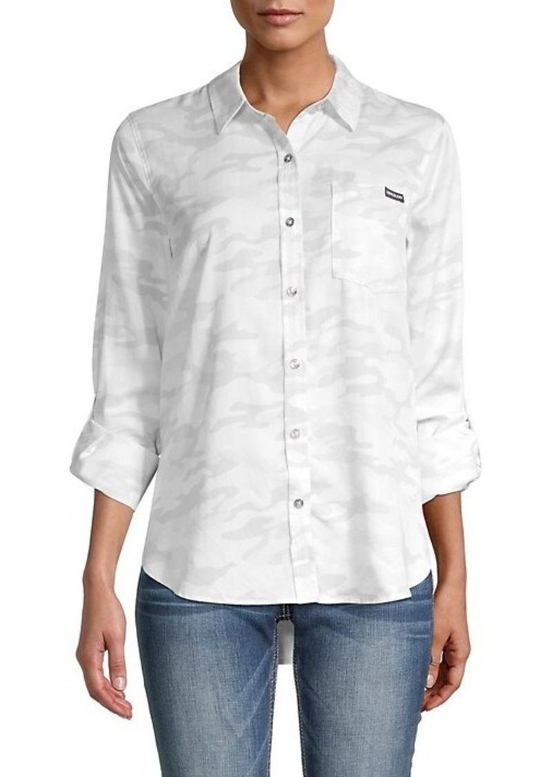 Calvin Klein Camo-Print Shirt