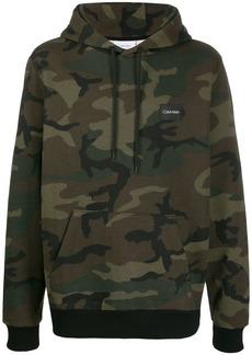Calvin Klein camouflage print hoodie