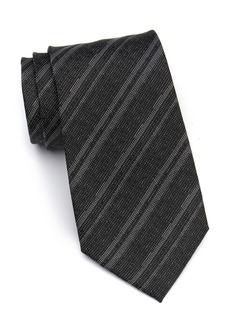 Calvin Klein Canyon Stripe Silk Tie