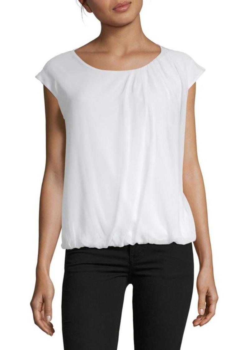 Calvin Klein Cap-Sleeve Top