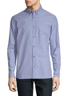 Calvin Klein Casual Cotton Button-Down Shirt