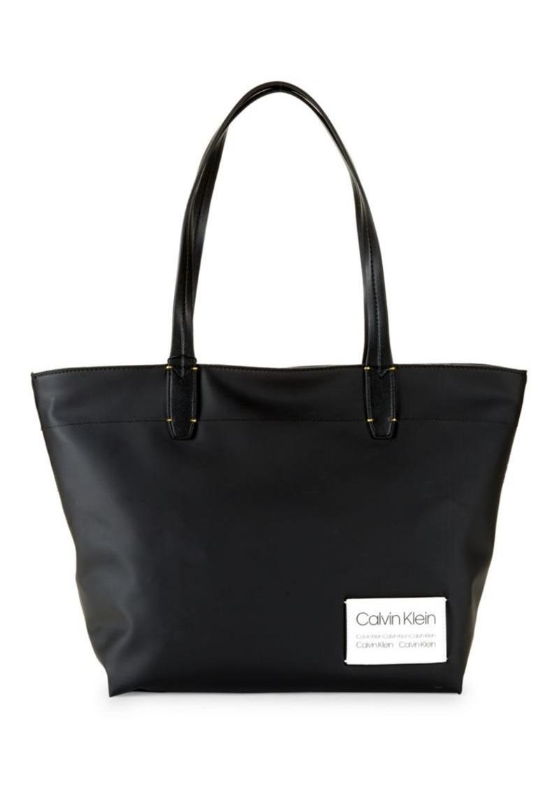 Calvin Klein Celia Small Nylon Tote Bag