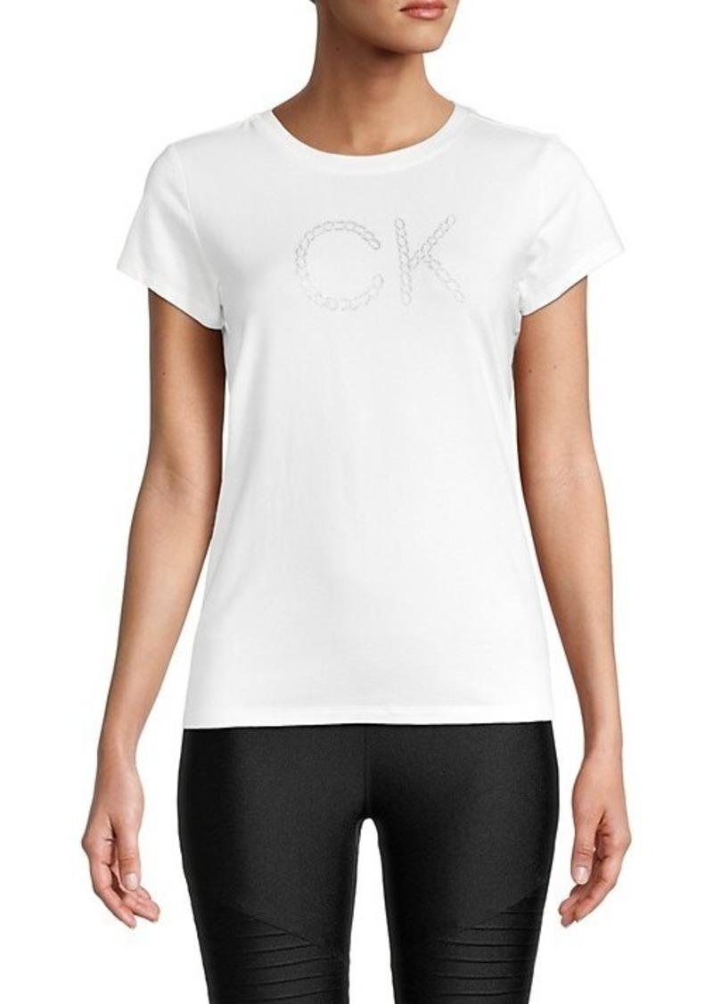 Calvin Klein Chain Graphic Logo T-Shirt