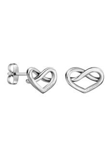 Calvin Klein Charming Heart Shape Stud Earrings
