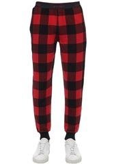 Calvin Klein Check Cotton Blend Pajama Pants