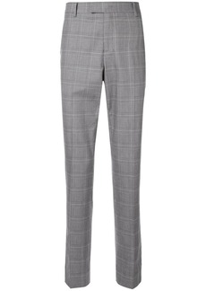 Calvin Klein check suit trousers